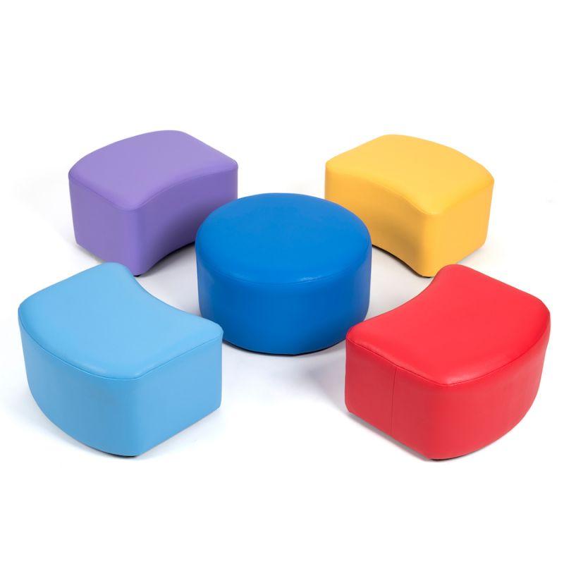 Krāsainu sēdvietu komplekts