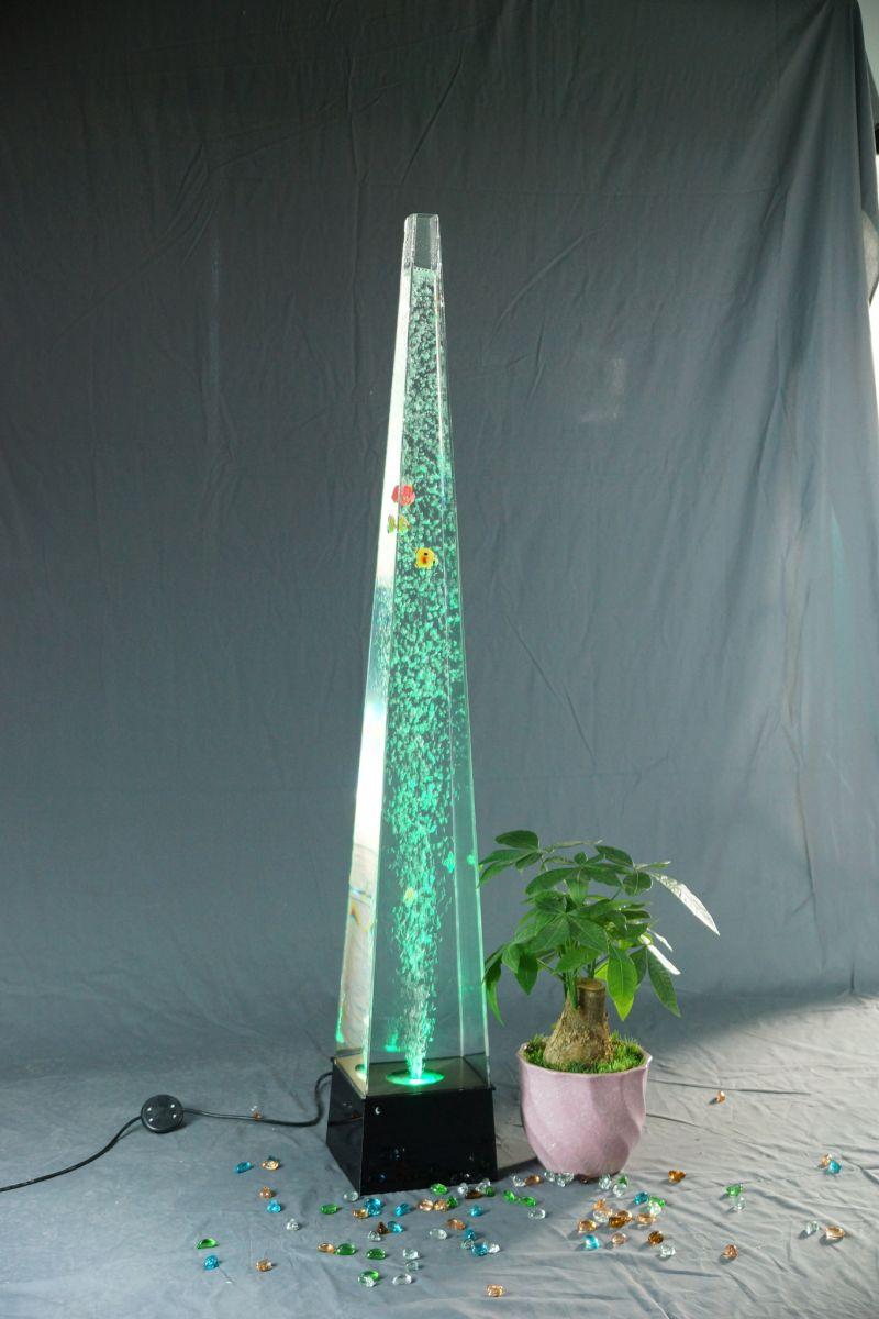 Sensora burbulis piramīda