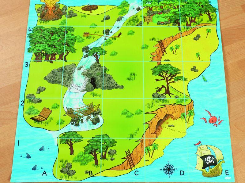 Dārgumu sala paklājs